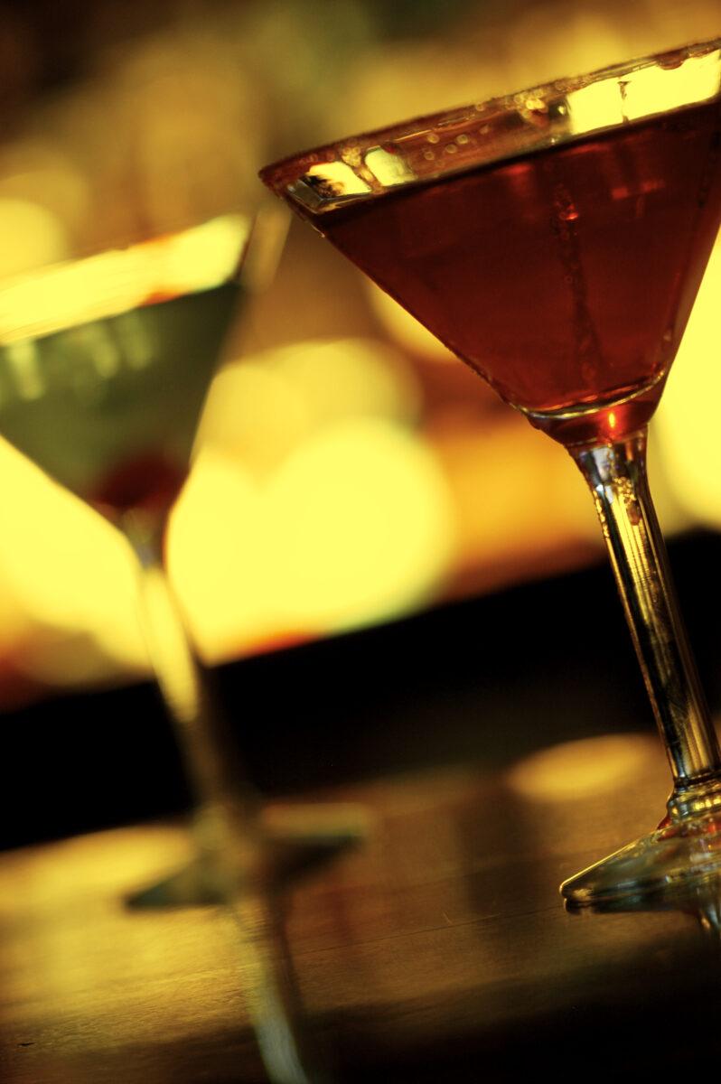 Martinis at Night