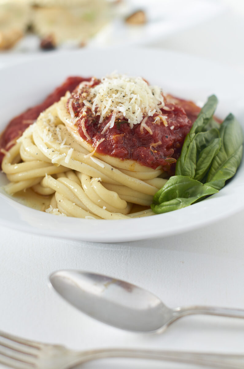 Pasta and Red Sauce